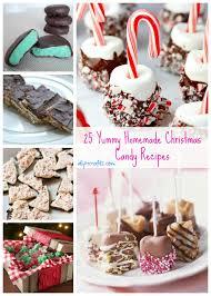 25 yummy homemade candy recipes