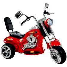 ride on toy 3 wheel trike chopper motorcycle for kids by lil