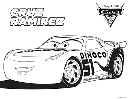 Coloring Pages Cars 3ll L