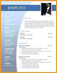 Free Resume Templates For Word 2007 Cool Microsoft Word Resume Template 48 Resumelayout