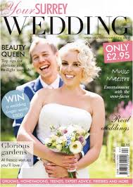 Featured On The Cover Of Your Surrey Wedding Magazine April May