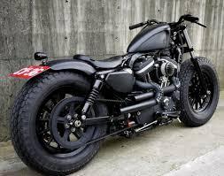 harley davidson sportster iron 883 iron guerilla custom by