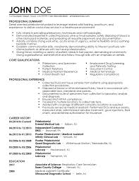 Resumes For Phlebotomist Professional Phlebotomist Templates To Showcase Your Talent