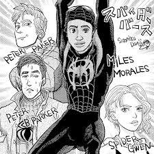 映画スパイダーマン スパイダーバース ペルシケッティラムジー