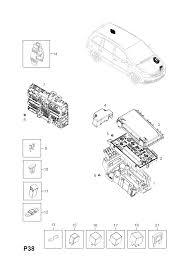 opel zafira b fuse box > opel epc online > nemiga com fuse box opel zafira b spare parts catalog epc