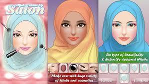 hijab makeup salon