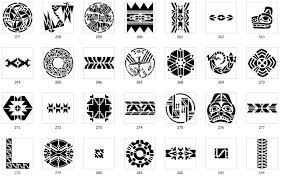 Aztec Tattoo Patterns Cool Polynesian Triangle Tattoo Meaning Aztec Tattoo Patterns Free