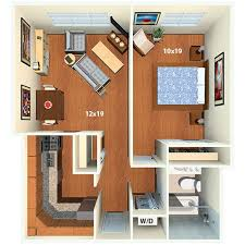 Nice One Bedroom Apartment Washington Dc Regarding Latrobe Apartments DC  Floor Plans