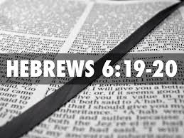 Image result for hebrews 6:19