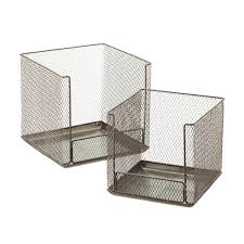 Design Ideas Open Front Stackable Wire Storage Cubes ...