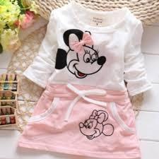 2018 <b>New</b> Summer <b>Baby</b> Girls <b>Cartoon</b> Cotton Dress Children's ...