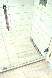 shower floors for tile wer floor tiles non slip floors linear drain resistant for tile no