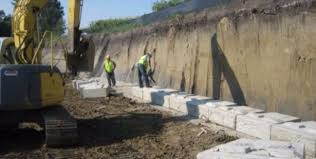 Small Picture Large Retaining Wall Blocks ReCon Wall Systems