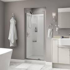 beautiful delta shower doors home depot simplicity 60 in x 70 semi frameless sliding door