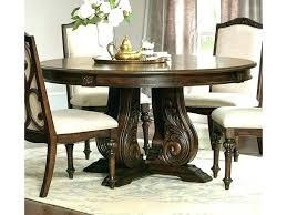 gorgeous dark brown round kitchen table wood small cream and 5 piece small dark wood round