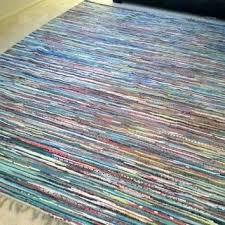 cotton rag rugs area 8 x rug large colorful woven throw 2x3 cotton rag rugs