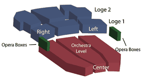Seating Chart Macky Auditorium Concert Hall University