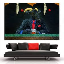 online shop large size printing oil painting the black sheep wall painting steampunk wall art picture for living room painting no frame aliexpress mobile on black sheep wall art with online shop large size printing oil painting the black sheep wall