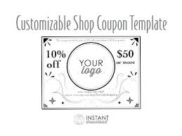 Customizable Coupon Template Green And Pink Gift Voucher Free Vector