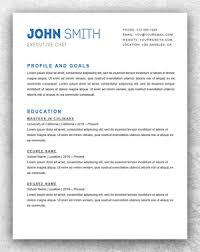 Simple Resume Template Word Cool Simple Resume Template Word Resume Template Start