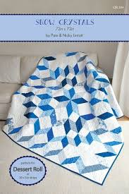 73 best Quilting-Pam and Nicky Lintott images on Pinterest | Book ... & Snow Crystals by Pam & Nicky Lintott - Quilt Pattern Using 5 Adamdwight.com