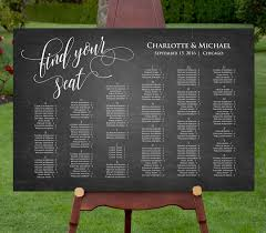 Editable Seating Chart Wedding Printable Seating Chart Template Instant Download Editable