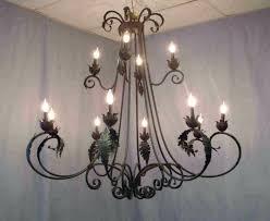 large wrought iron chandeliers light fixtures iron crystal chandelier wood metal chandelier large wrought iron chandeliers