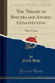 the theory of spectra and atomic constitution by niels bohr
