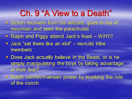 lord of the flies william golding ppt  2 ch