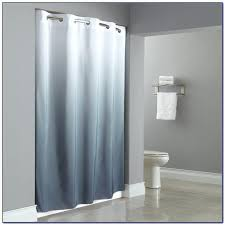 hookless fabric shower curtain with snap in smlf