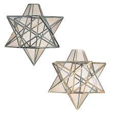Details About Vega Star Glass Ceiling Lantern Pendant Light