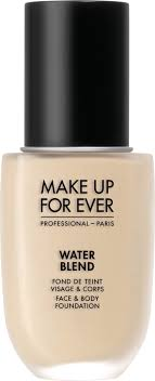 make up for ever water blend face body foundation 50ml y215 yellow albaster