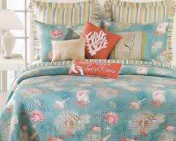 Beach Inspired Bedding Bedding Washed Ashore Beach Themed Quilt Bedding Beach Style Bed