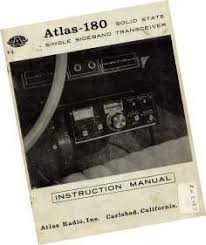 atlas radio manuals here are a the full manuals for the most common atlas products the pdf versions are probably more reliable as far as printing is concerned
