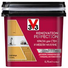 <b>Краска</b> для стен и мебели на кухне <b>V33 RENOVATION</b>