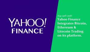 yahoo finance. Contemporary Finance Yahoo Finance Integrates Bitcoin Ethereum U0026 Litecoin Trading To