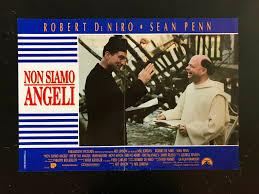 Locandina fotobusta NON SIAMO ANGELI Robert De Niro Sean Penn