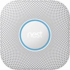 nest protect wired. Interesting Nest Nest  Protect 2nd Generation Smart SmokeCarbon Monoxide Wired Alarm  White Angle_Zoom And T