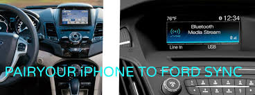 Got An Iphone 6 Learn More About How To Sync It With Ford