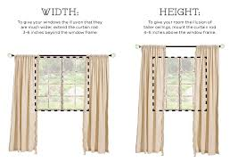 how to hang curtains and dry