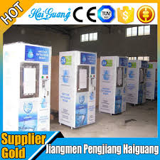 Commercial Water Vending Machine Simple Automatic Commercial Bottled Water Vending Machine For Drinking