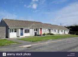 Small Terraced Bungalows Providing Sheltered Retirement Council