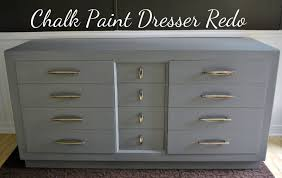 chalk paint furniture diyLife With 4 Boys DIY Chalk Paint Dresser Redo