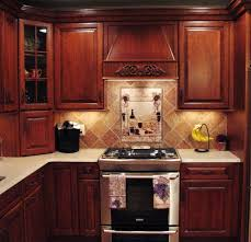 Image Of: Best White Cabinet Backsplash Ideas Small Kitchen Gallery Within  Kitchen Tile Backsplash Ideas