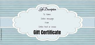 Gift Certificate Template With Logo Free Gift Certificate Template 50 Designs Customize