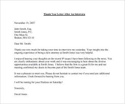 Thank You Email After Interview 17 Free Word Excel Pdf Format