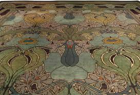 arts and crafts area rug designs