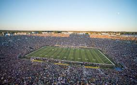 Notre Dame Stadium Detailed Seating Chart Notre Dame Vs Western Michigan Tickets Sep 19 In Notre Dame