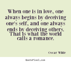 Deception Love Quotes