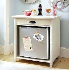 mini fridge stand